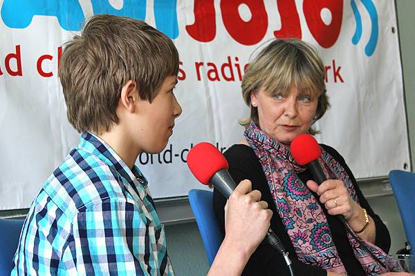 Interview with EU top politician Mrs. Kaufmann!